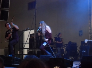 The Lovecrave performing at Agra Halle