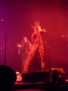 Monica Richards of Faith and the Muse performing at Agra Halle